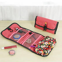 Дорожный подвесной органайзер для ванной комнаты Красный(Розовый), фото 3