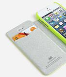 Чохол-книжка Mercury Goospery Techno Flip Cover для Apple iPhone 5/5S, фото 4