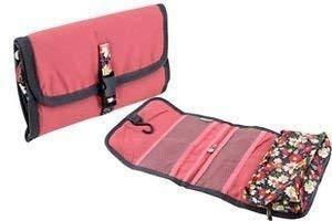Дорожный подвесной органайзер для ванной комнаты Красный(Розовый), фото 2