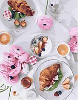 Картина по номерам на холсте Завтрак по-французски, GX23709