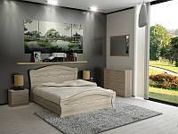 Ліжко Неман ВІОЛЕТТА Н-229 МДФ дуб сонома, фото 1