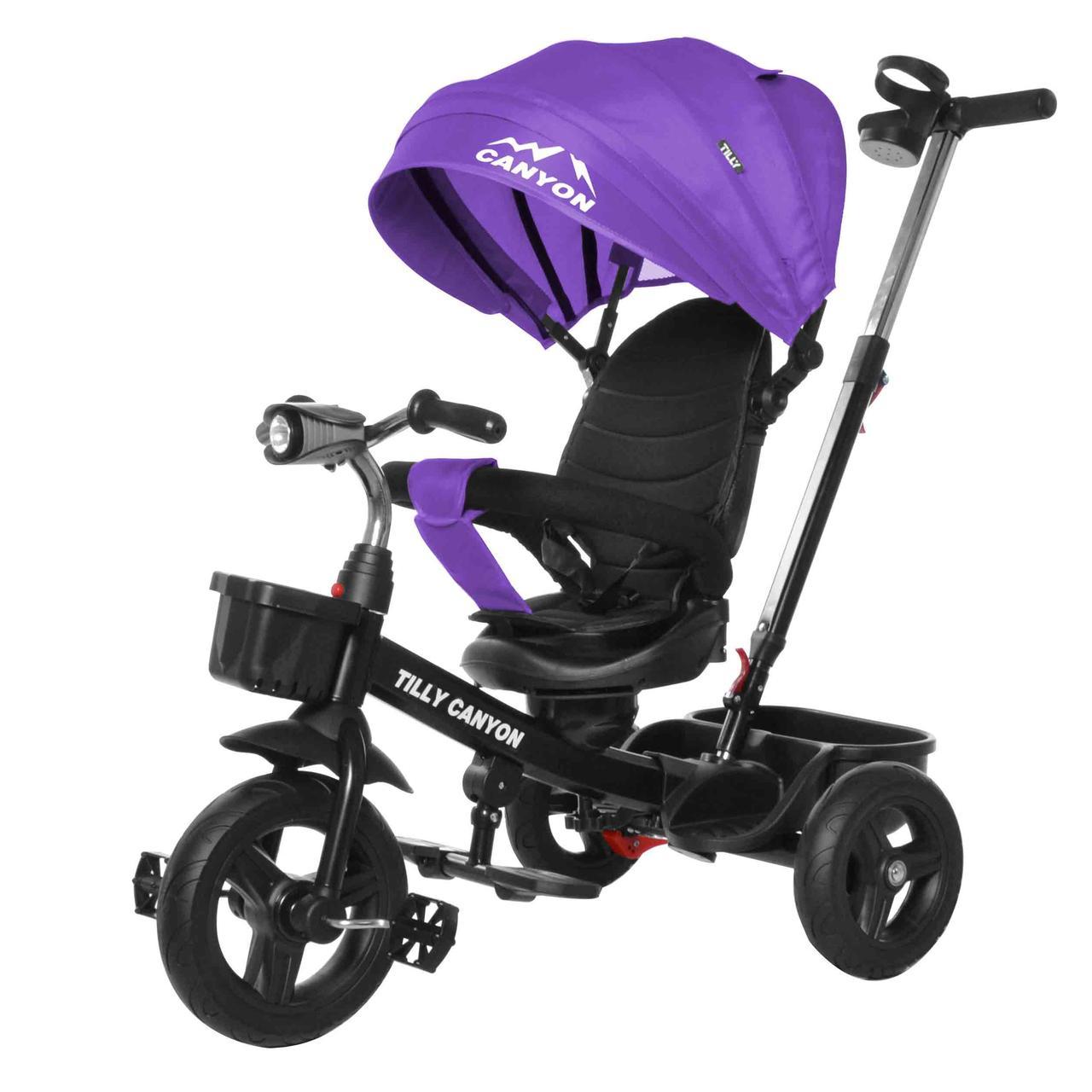 Велосипед трехколесный TILLY CANYON T-384 Фіолетовий