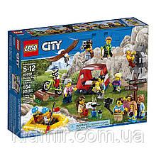 LEGO City 60202 Конструктор Лего Любители активного отдыха 164 детали