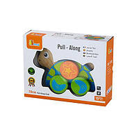 "Іграшка-каталка Viga Toys ""Черепаха"" (50080)"