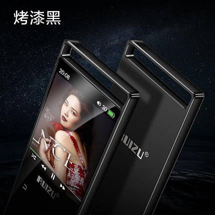 MP3 Плеер RuiZu D01 16Gb Original Full Black, фото 2