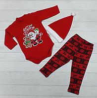 Детский костюм на байке для новорожденных 3,6,9,12 мес 94923255615
