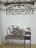 Кованый набор мебели в прихожую  -  06, фото 2