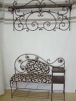 Кованый набор мебели в прихожую  -  06
