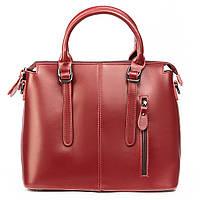 Большая женская кожаная сумка в деловом стиле разные цвета