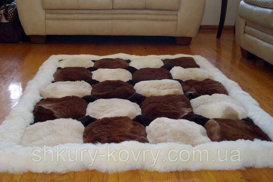 Нежнейший меховой ковер из меха ламы Альпака купить в Харькове