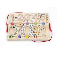 """Розвиваюча іграшка Viga Toys Лабіринт """"Цифри"""" (50180)"""