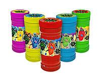 Слаймы разных цветов 370 грамм Surprise Ninja Slime 3XL