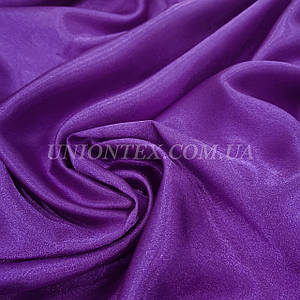 Ткань креп сатин синий фиолетовый