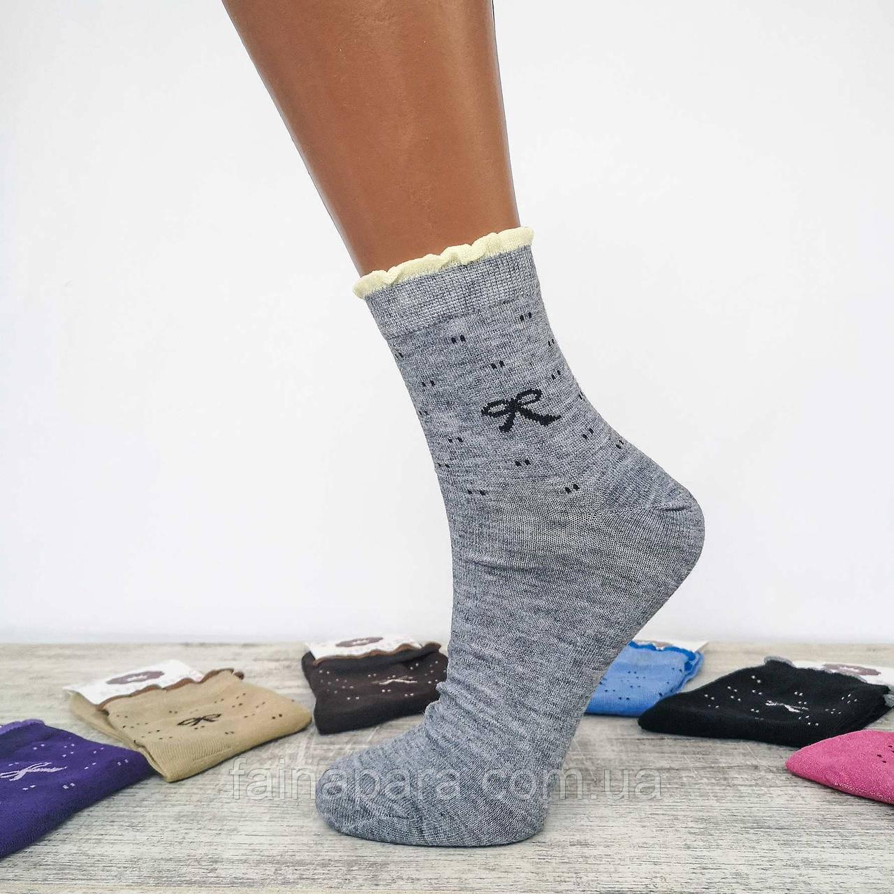 Шкарпетки жіночі однотонні Корона