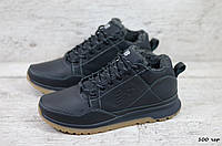 Стильные мужские кожаные зимние кроссовки New balance, фото 1