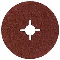 Шлифкруг фибровый 100мм P80 E.F.Metal Bosch 2608606919