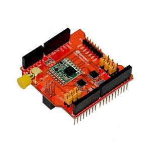 Модуль беспроводной связи 868MHz LoRa Shield Module V95 Network для Arduino Leonardo,Uno, Mega, DUE,, фото 2