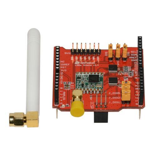 Модуль беспроводной связи 868MHz LoRa Shield Module V95 Network для Arduino Leonardo,Uno, Mega, DUE,
