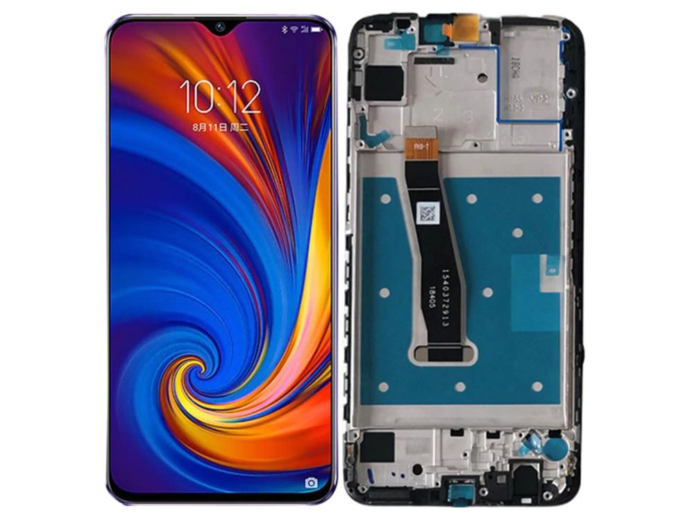 Дисплей (LCD) Huawei P Smart (2019) | P Smart Plus (2019) | POT-L21 | POT-LX1 с тачскрином и рамкой, чёрный