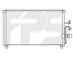 Радиатор кондиционера Шевролет Эванда 03-06 / CHEVROLET EVANDA (2003-2006)