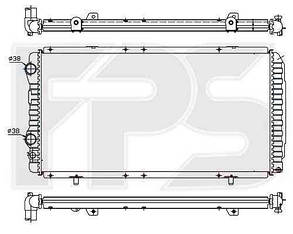 Радиатор Пежо Боксер 94-06 / PEUGEOT BOXER (1994-2002)
