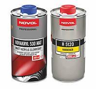 Бесцветный акриловый лак Novol NOVAKRYL 530 2+1 матовый (0,5 л)