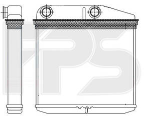 Печка Фиат Гранд Пунто 05- / FIAT GRANDE PUNTO