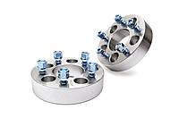 Алюминиевые проставки 5x130 (12x1,5 - 30mm)