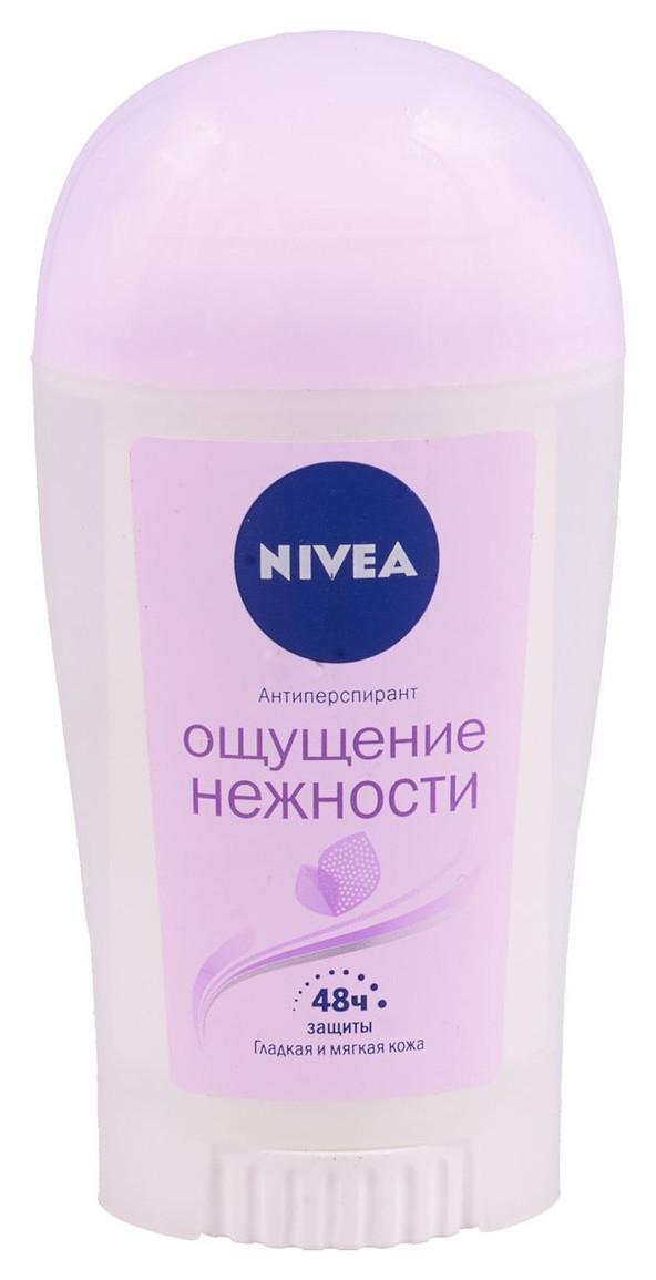"""Дезодорант-стик женский Nivea """"Ощущение нежности"""" (40мл.)"""