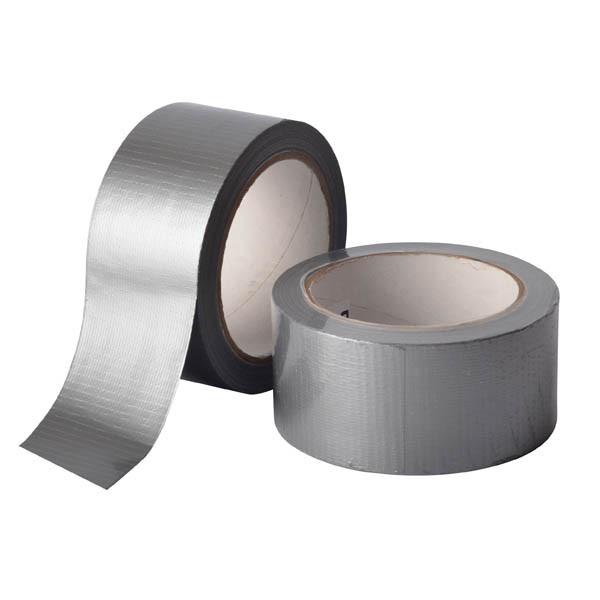 Армированная клейкая лента, сантехнический скотч - 50мм х 25м