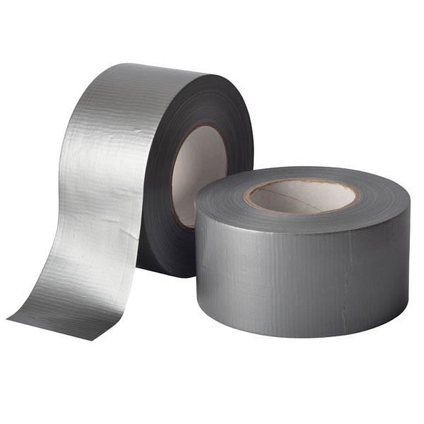 Армированная клейкая лента, сантехнический скотч - 75мм х 100м