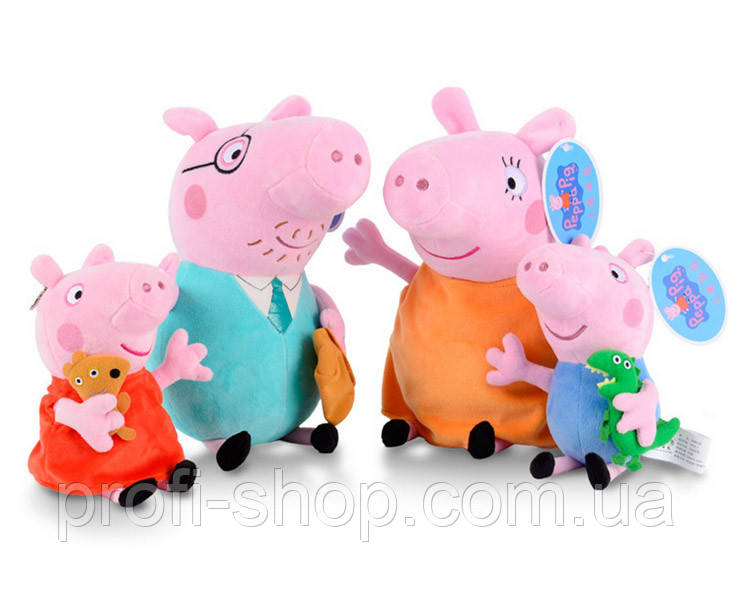Мягкая игрушка Свинка Пеппа, Семья Peppa Pig Оригинал!