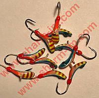 Мормышка вольфрамовая Bravo 6730-445 3,0 мм 0,62 гр. Комар с ушком