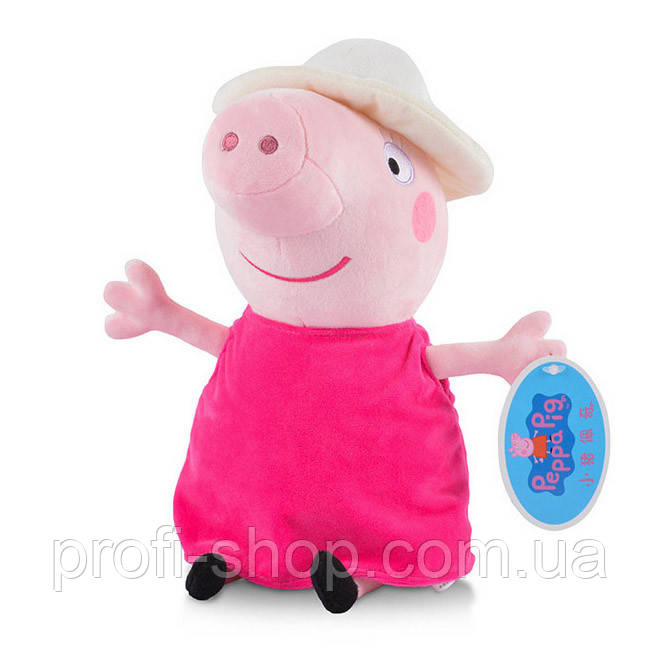 Свинка Бабушка из мультфильма Свинка Пеппа. Peppa Pig 30 см