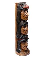 """Тотем """"Индейцы"""",высота 60см"""