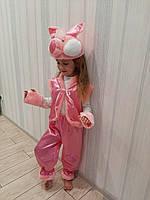 Свинка хрюшка детский новогодний карнавальный костюм, фото 1