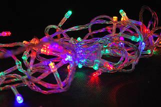 Гирлянда нить светодиодная на 300 лампочек Mix 14,1 м