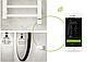 ТЭН HeatQ NEX 1.0 chrome: регулятор 30-60С +таймер до 8ч.+ Bluetooth + программатор до 7 дней через телефон, фото 3