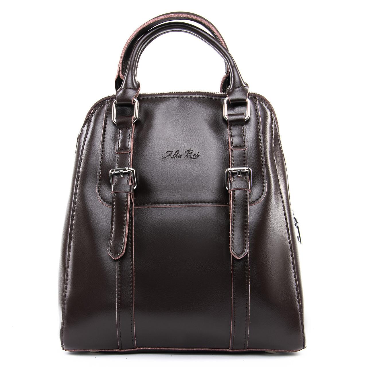 Кожаный женский рюкзак ALEX RAI в разных цветах