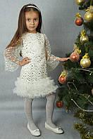Детское платье для девочки на утренник, 191031С,  от 4 до 6 лет