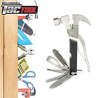 Инструмент Мультитул Tac Tool 18 in 1 Швейцарский нож BELL HOWELL | Original
