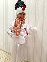Снеговик детский карнавальный костюм, фото 1