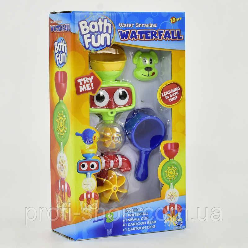 Игрушка для купания  Водопад на присоске, в коробке