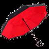 Зонт наоборот, зонт обратного сложения, ветрозащитный зонт, антизонт, фото 4