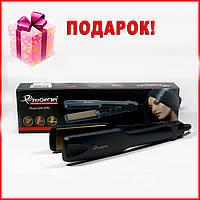 Выпрямитель для волос ProGemei GM-2995. Плойка выпрямитель, утюжок. Плойка для выпрямления волос