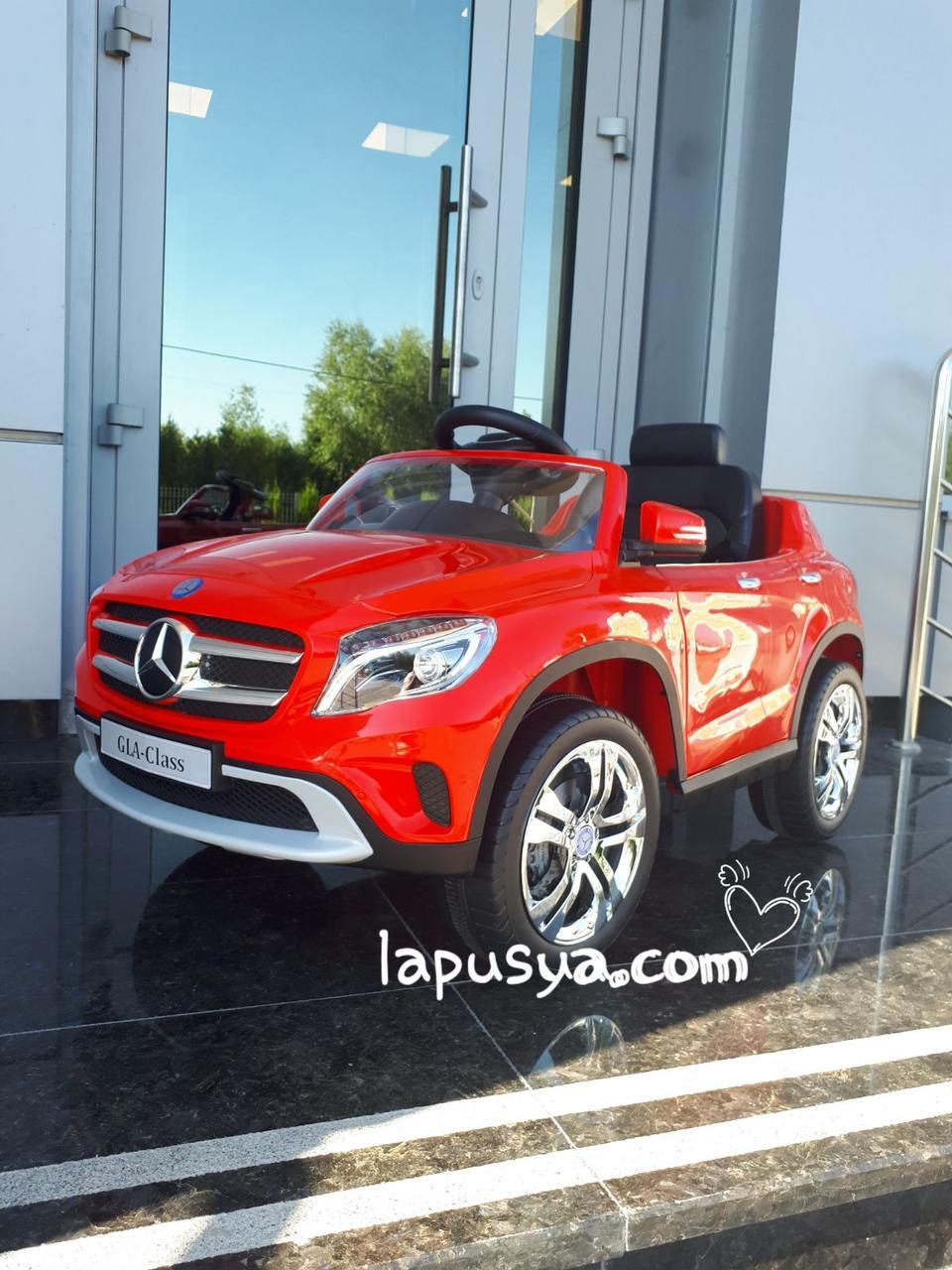 Електромобіль BabyHit Mercedes Benz Z653R Red