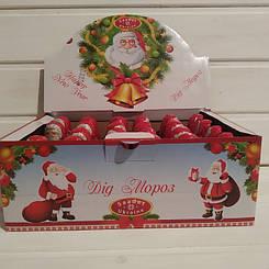 Шоколадная фигурка Дед Мороз с сюрпризом 24 шт 30 гр