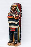 Вождь индейцев,высота 1.8м