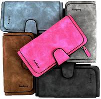 Женский кошелек Baellerry Forever, стильный женский клатч, портмоне | Original