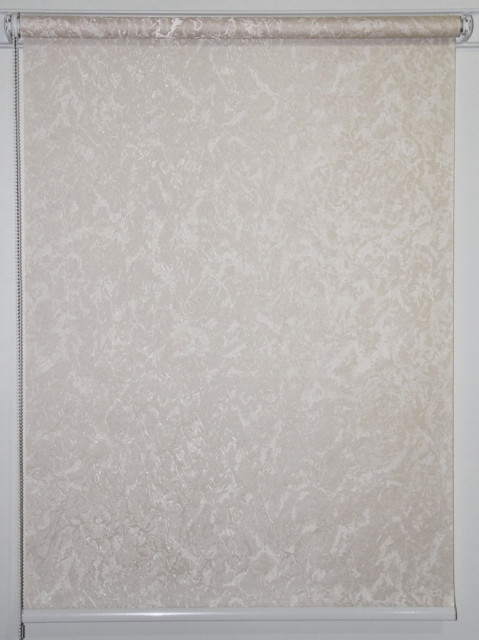 Готовые рулонные шторы 1350*1500 Ткань Miracle (миракл) Молоко 02
